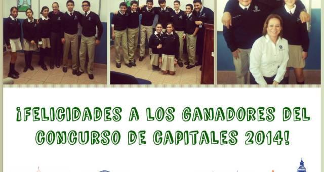 Ganadores concurso de capitales 2014